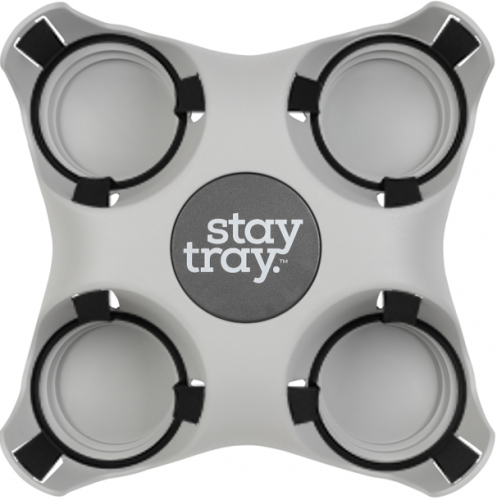 Stay tray Reusable Drink Tray