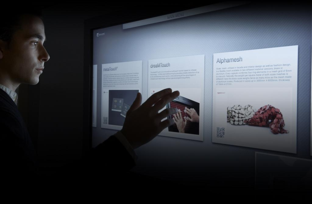 Our User Interface platform is an open space to explore technologies, gesture solutions and more.
