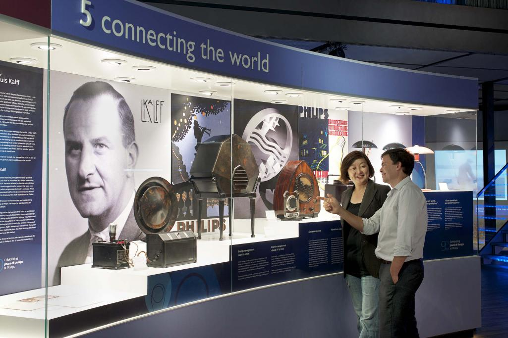 The exhibition gives you a real insight into the impact Philips has on people's lives.