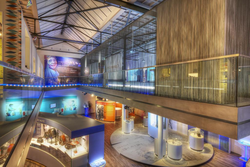 The Philips Museum enables visitors to experience Philips' history in a variety of different ways.