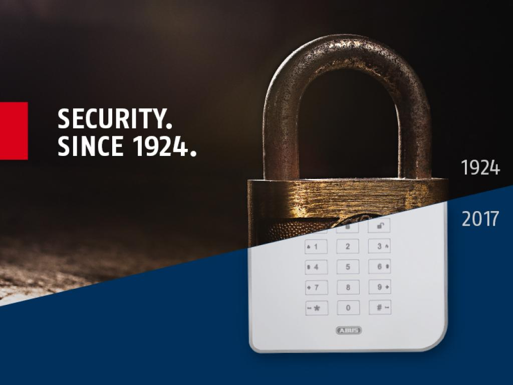 Since 1924 ABUS has been providing the good feeling of security worldwide