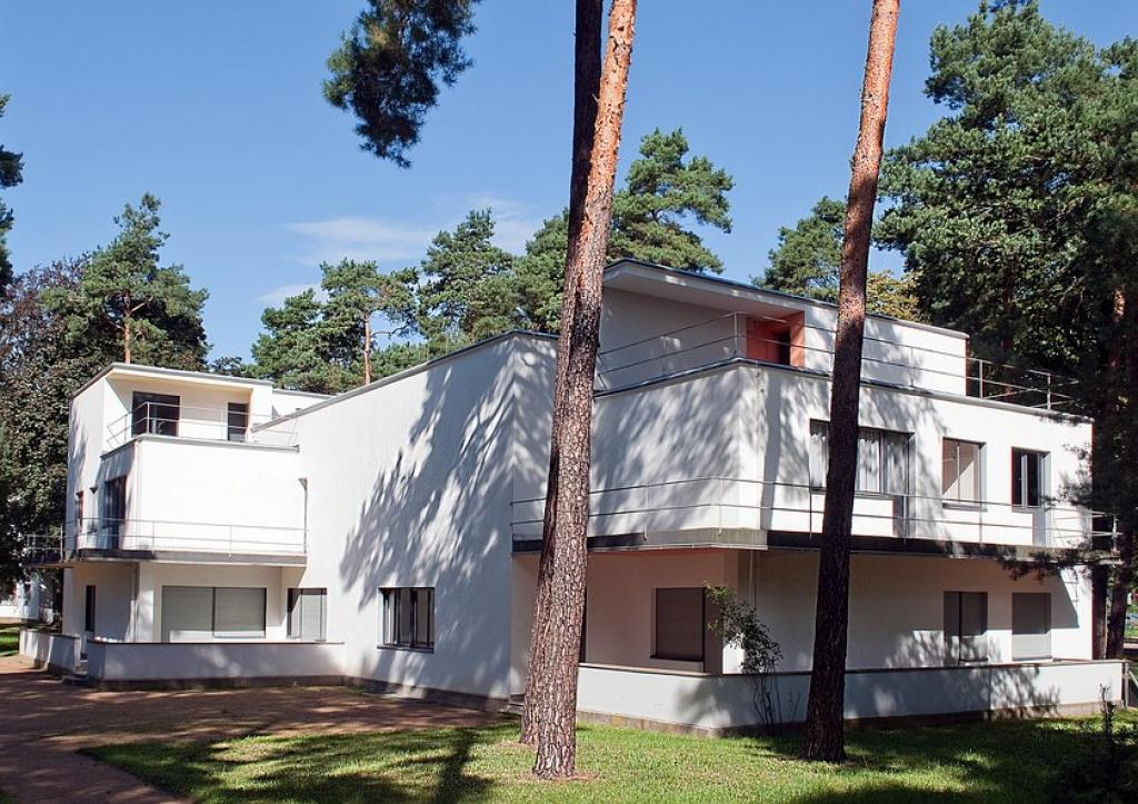 UNESCO World Cultural Heritage Bauhaus Buildings | Masters' Houses by Walter Gropius (1925–26)