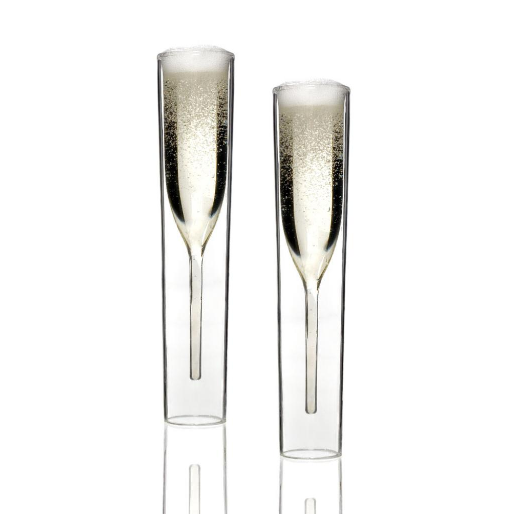 InsideOut Collection Champagner Glas Set