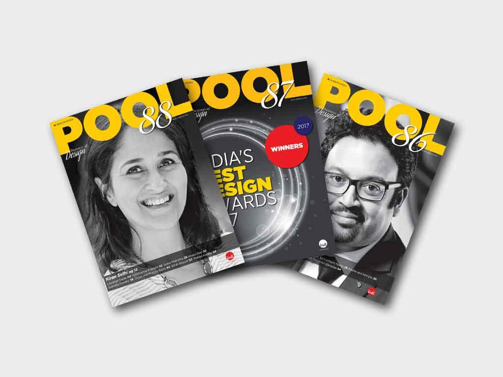 Pool inspires people with indigenous design stories. All content is fresh, not just curated.
