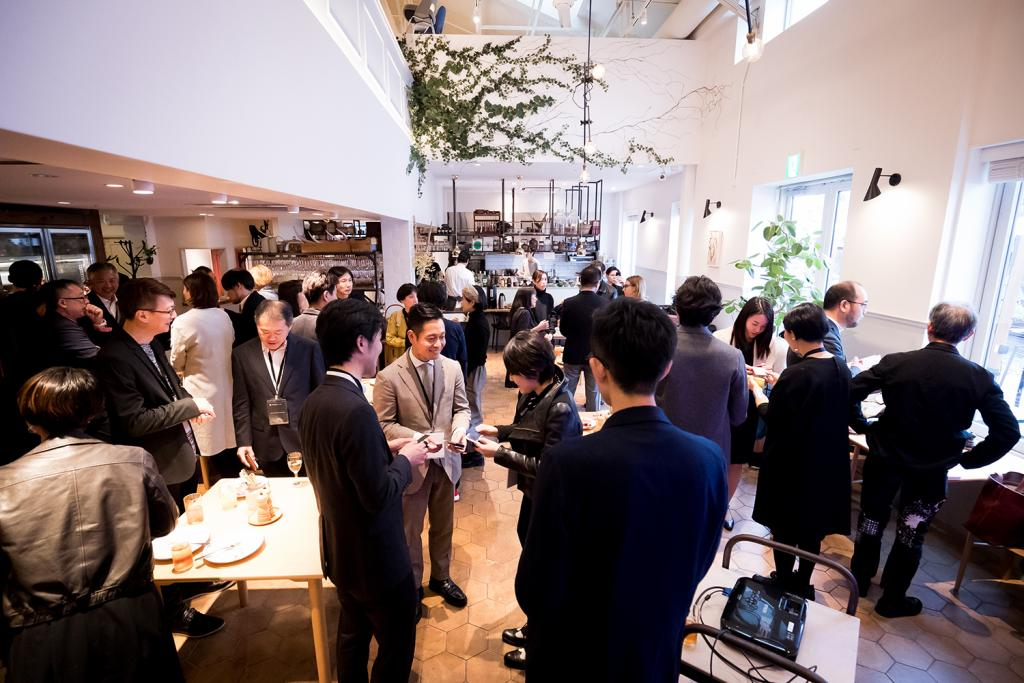 ADP Design Tour in Tokyo- Dining Party with Designers, Media and Business Represntatives