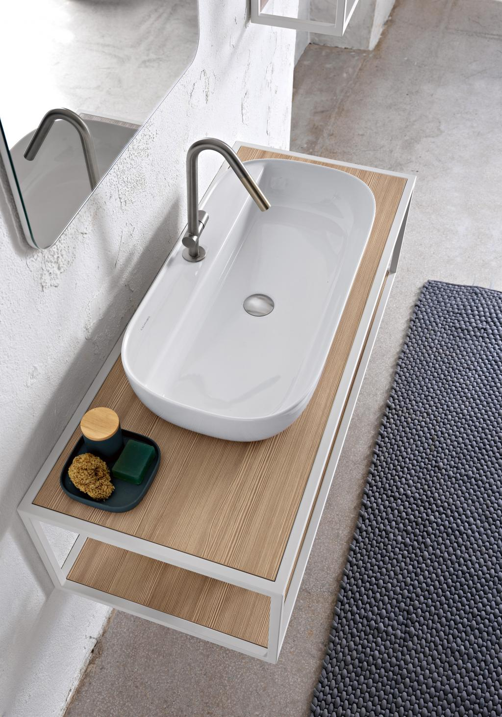 The clean design of GLAM makes the collection easy to integrate in multiple settings