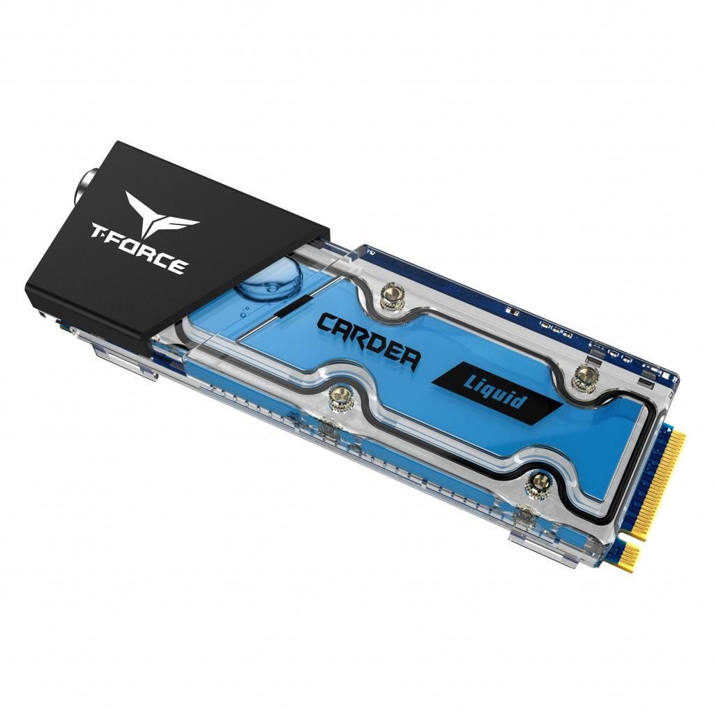 World's first water cooling M.2 solid state drive