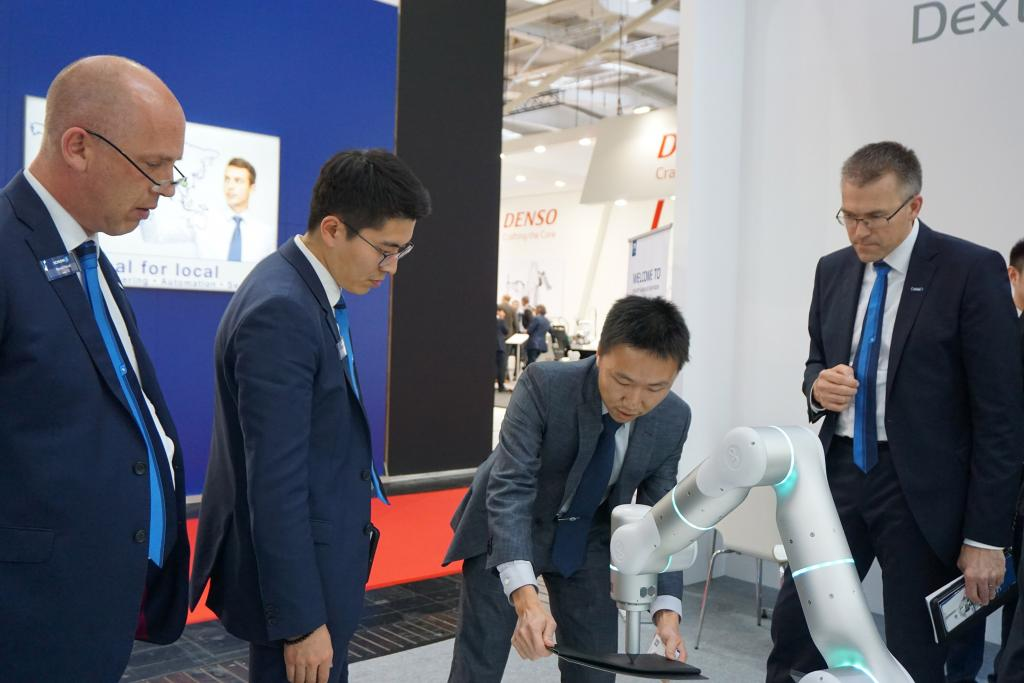 At Hannover Messe