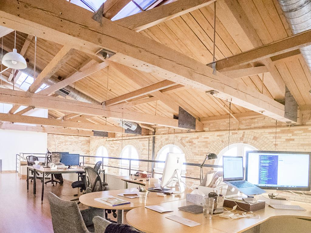 The Brain Box Labs office: an environment that breeds creativity.