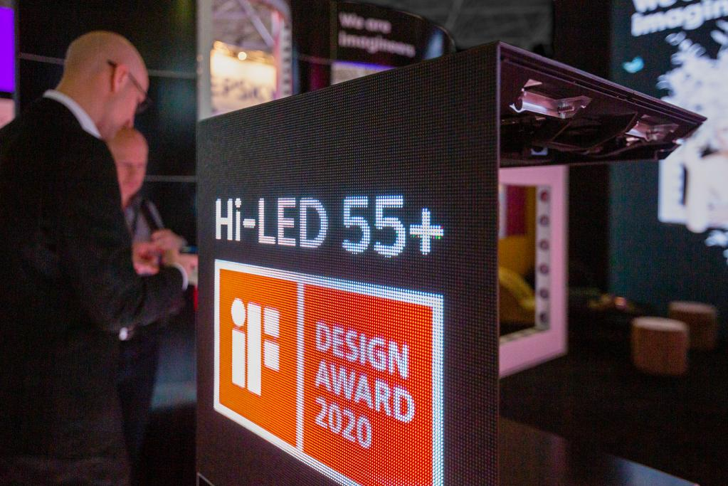 Aluvision presents its brand new Hi-LED 55+