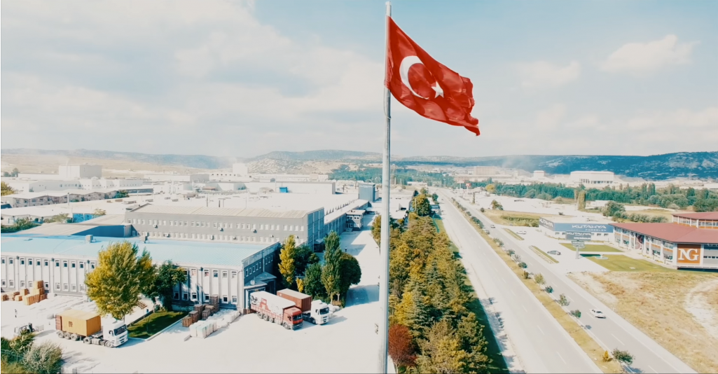Kütahya Porselen is one of the biggest tableware production company from Turkey.