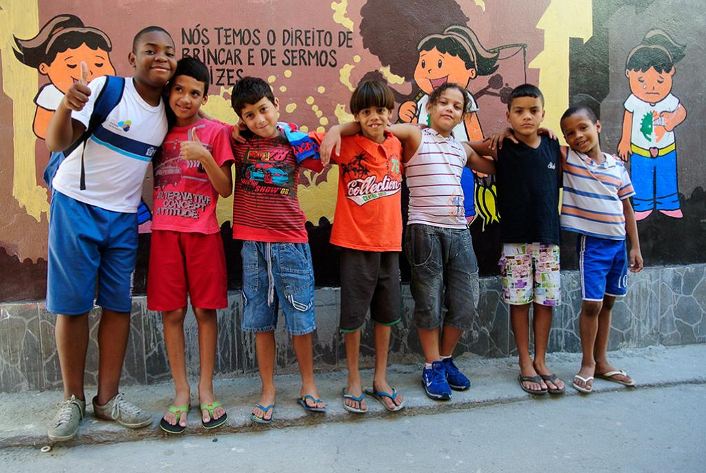 The NGO Projeto UERÊ, today serves 270 children and is internationally recognized.