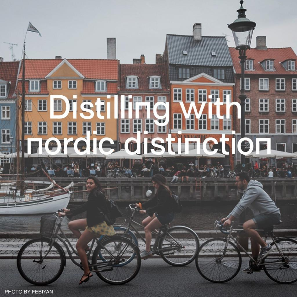 Nordic Gin House is a collaboration between the best small, local distilleries and master distillers