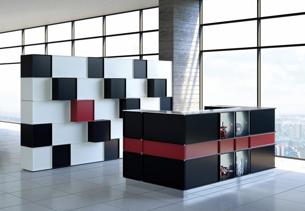 element.x storage system or reception counter