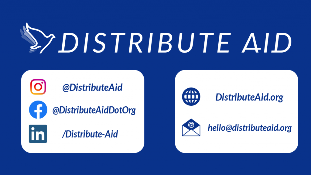 Find out what Distribute Aid does, and why!