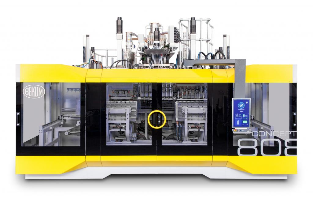 Bekum Concept 808 - New Industrial Machine Design awarded by iF Design