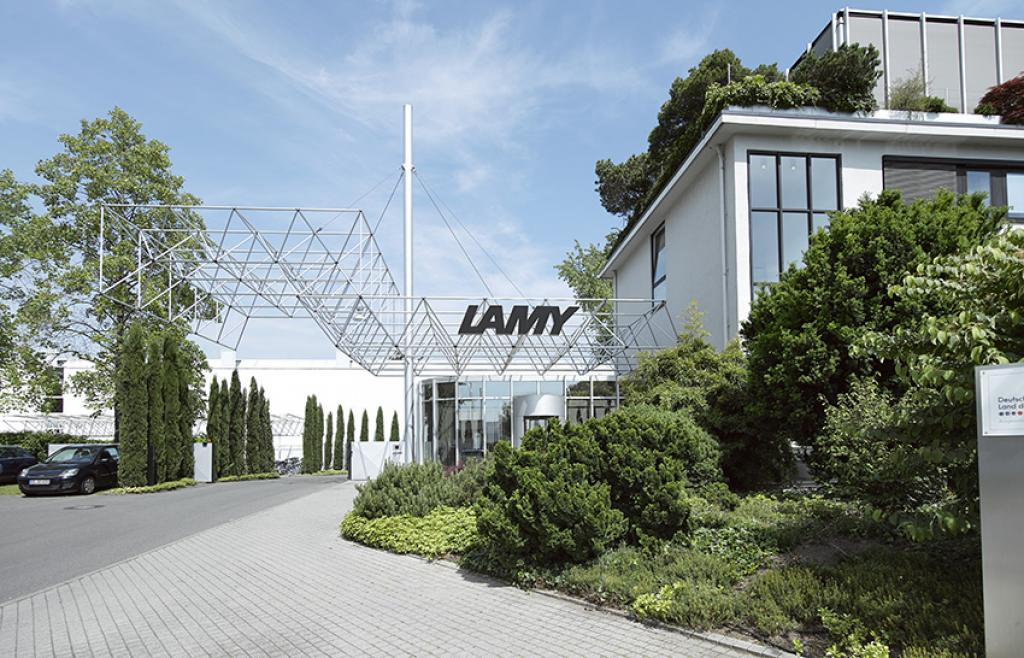 Lamy headquarter in Heidelberg, Germany.