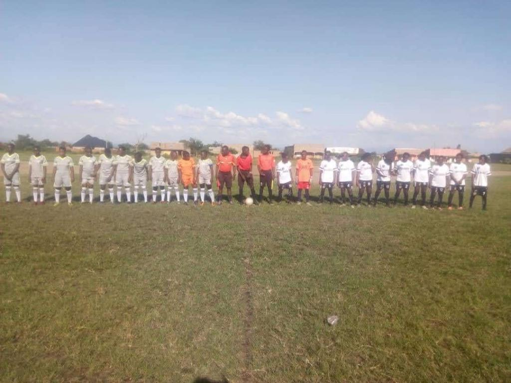 Girls Football tournament as way of exhibiting the skills girls have if empowered