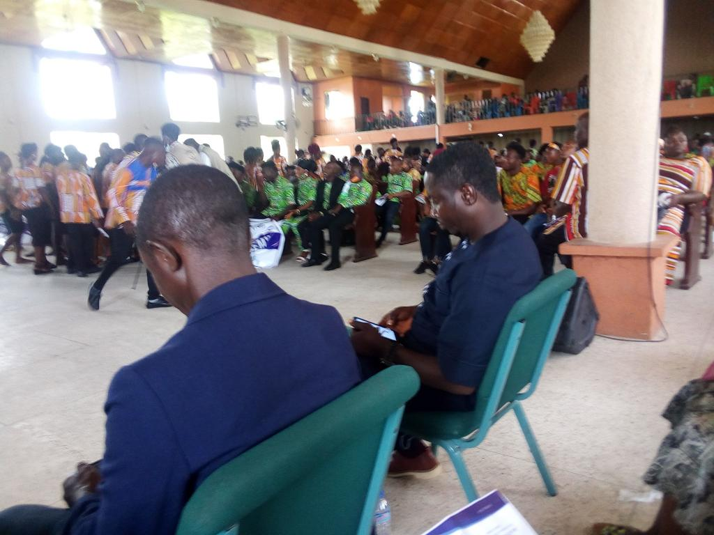 program marking the end of the 9 months youth capacity building in Liberia