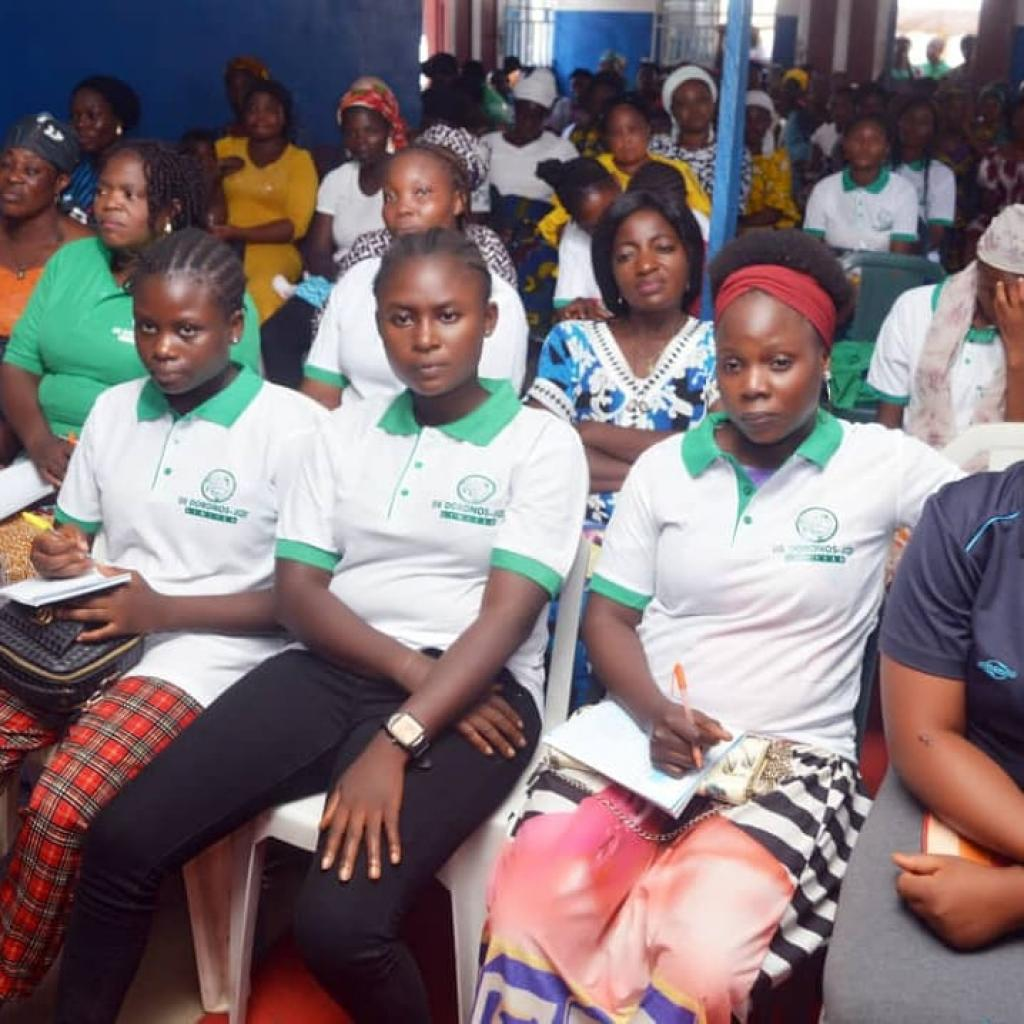 Training grassroots women and Girls on Skill Acquisitions for economic development and growth.