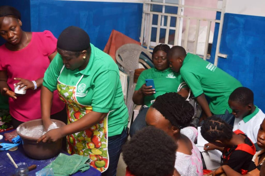 Caterers training women and youths on skill acquisitions
