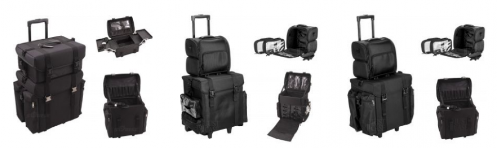Soft Sided Makeup Cases Online | Professional Cosmetic Travel Bags - JustCaseUSA