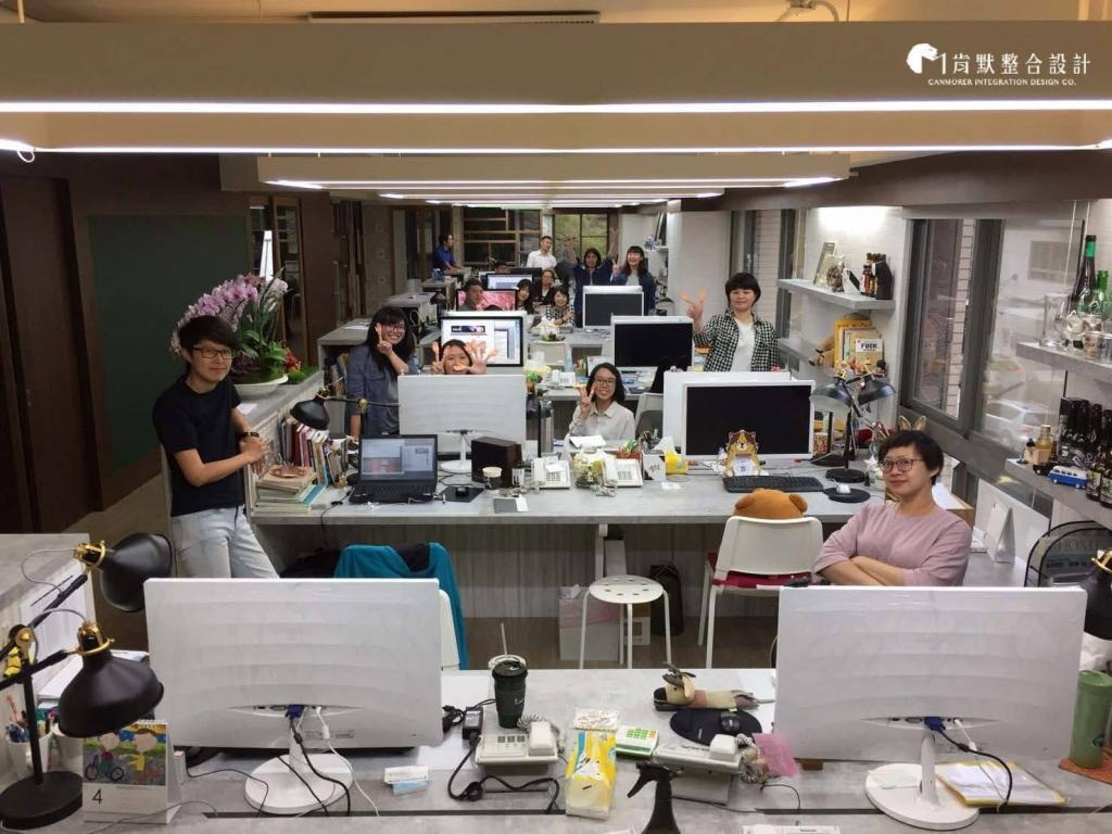 This is our offices, working environment