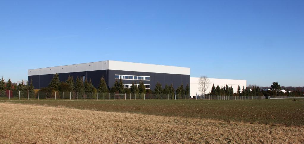 Logistic center with 150,000m³ in Tübingen, Germany