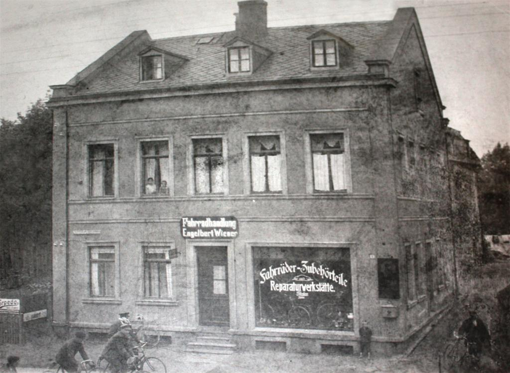 First store of Winora in the 1930s