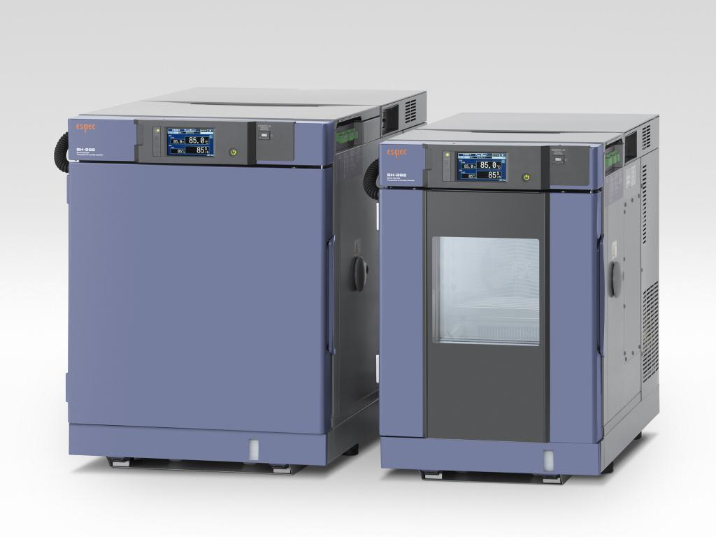 The smallest chamber with premium features for the ultimate in testing flexibility