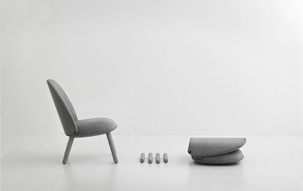 Ace lounge collection designed by Hans Hornemann for Normann Copenhagen, launched in 2016