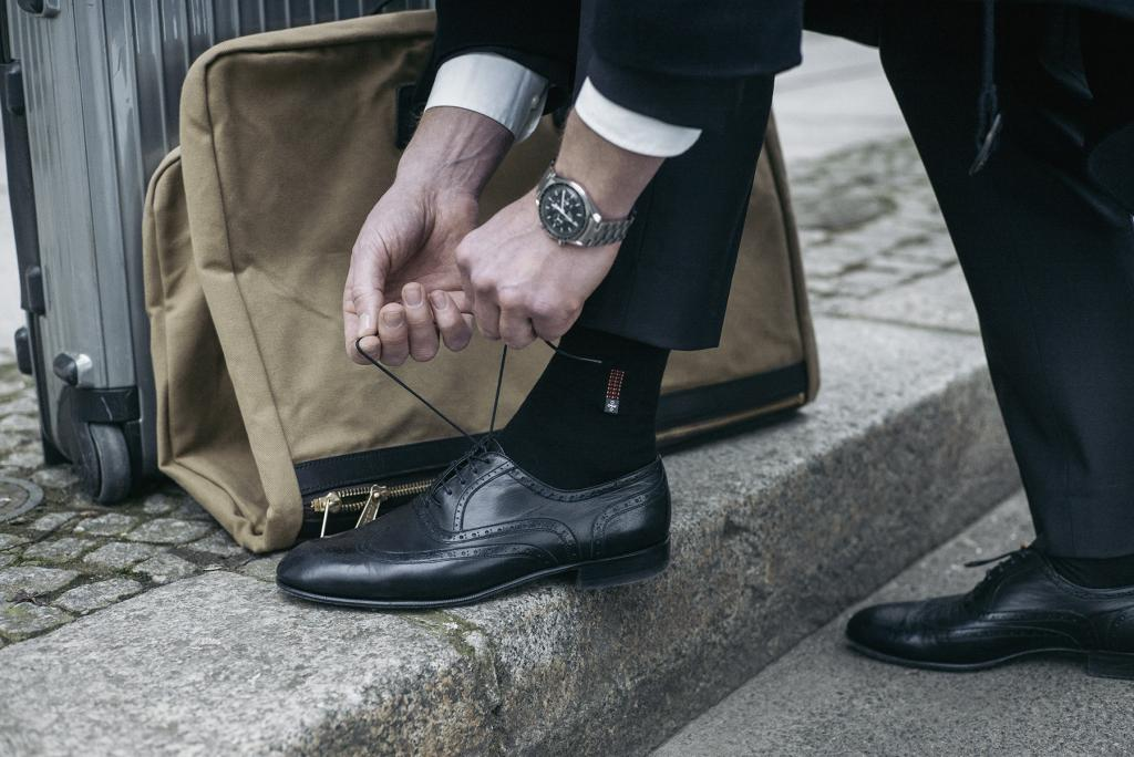 St. Antoni socks are ready to wear with style.