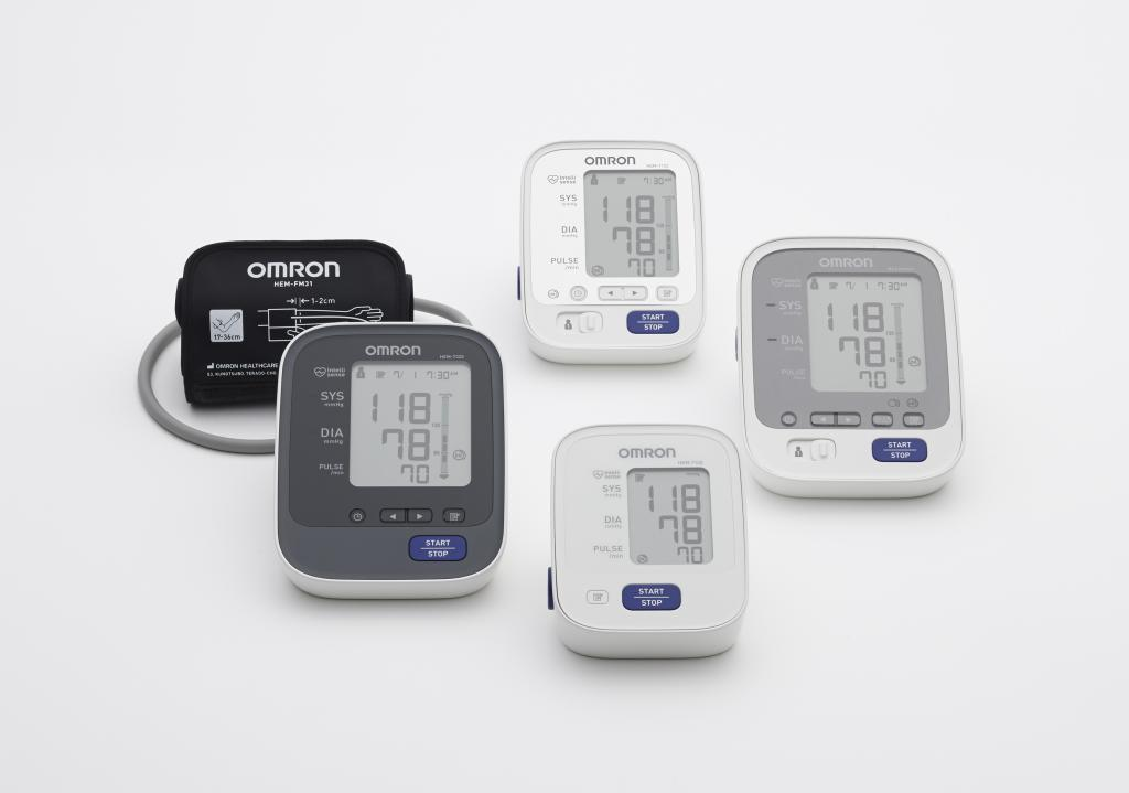 The blood pressure monitor series was designed for users across a broad range of ages and needs.