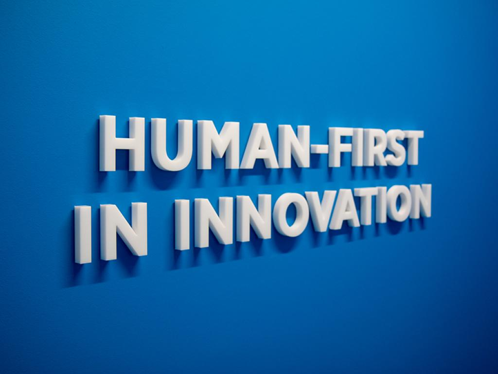 Human first in innovation