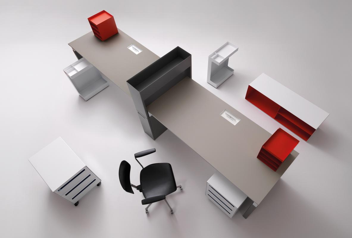 workspace for müller möbel | if world design guide