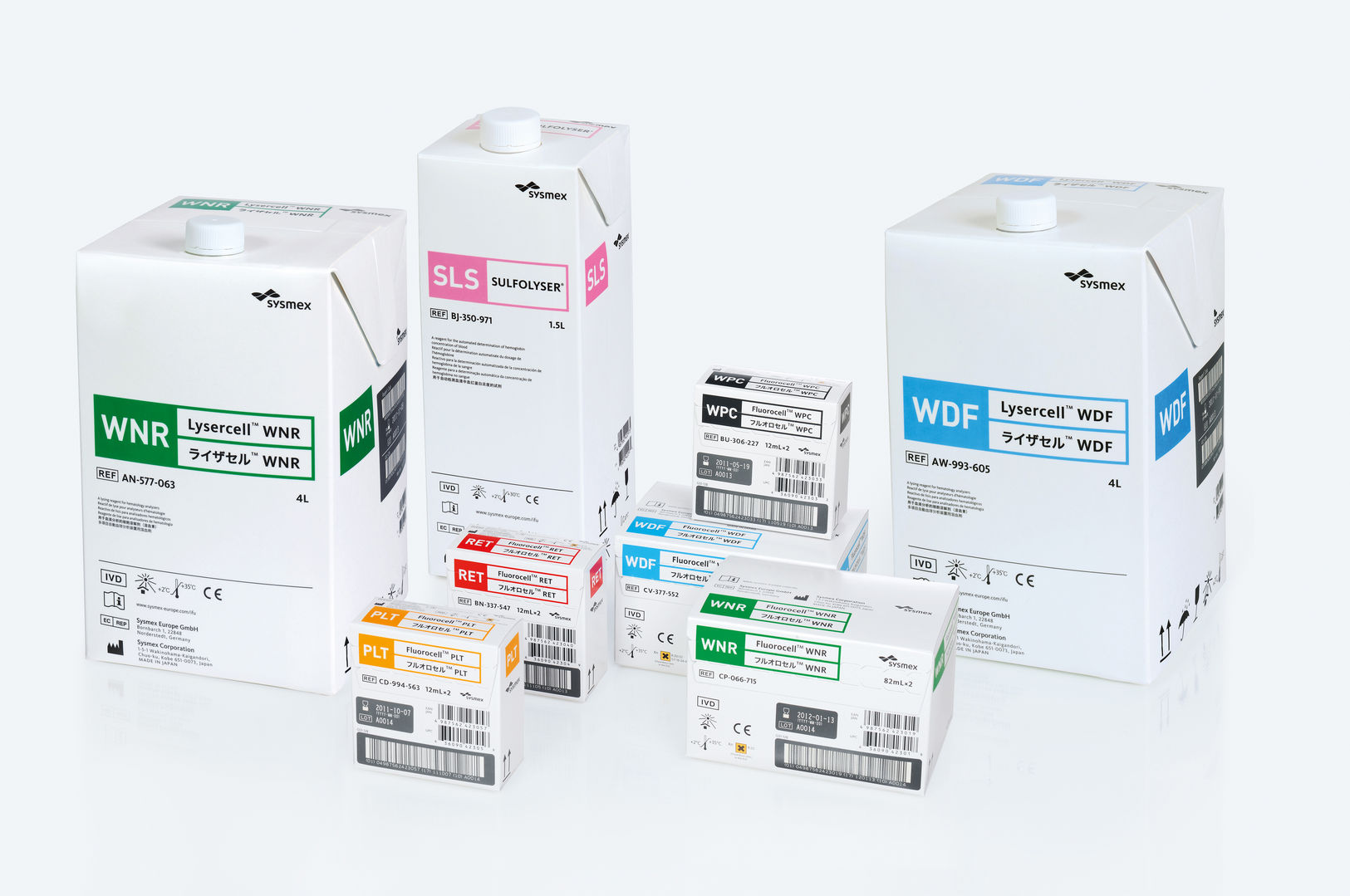 XN-Series, Reagents   iF WORLD DESIGN GUIDE