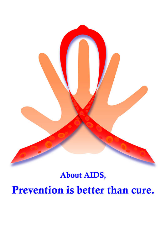 AIDS will be transmitted by blood, sexual relationships and other ways.