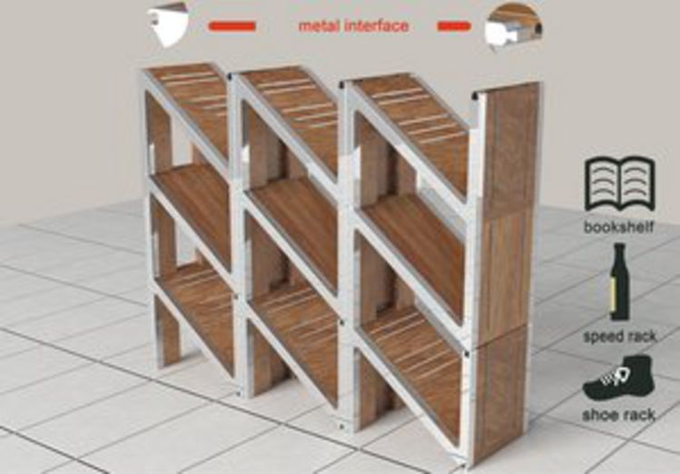 Contemporary Origami Shelving Found Here Info Costco System Hsn Uk ... | 522x749