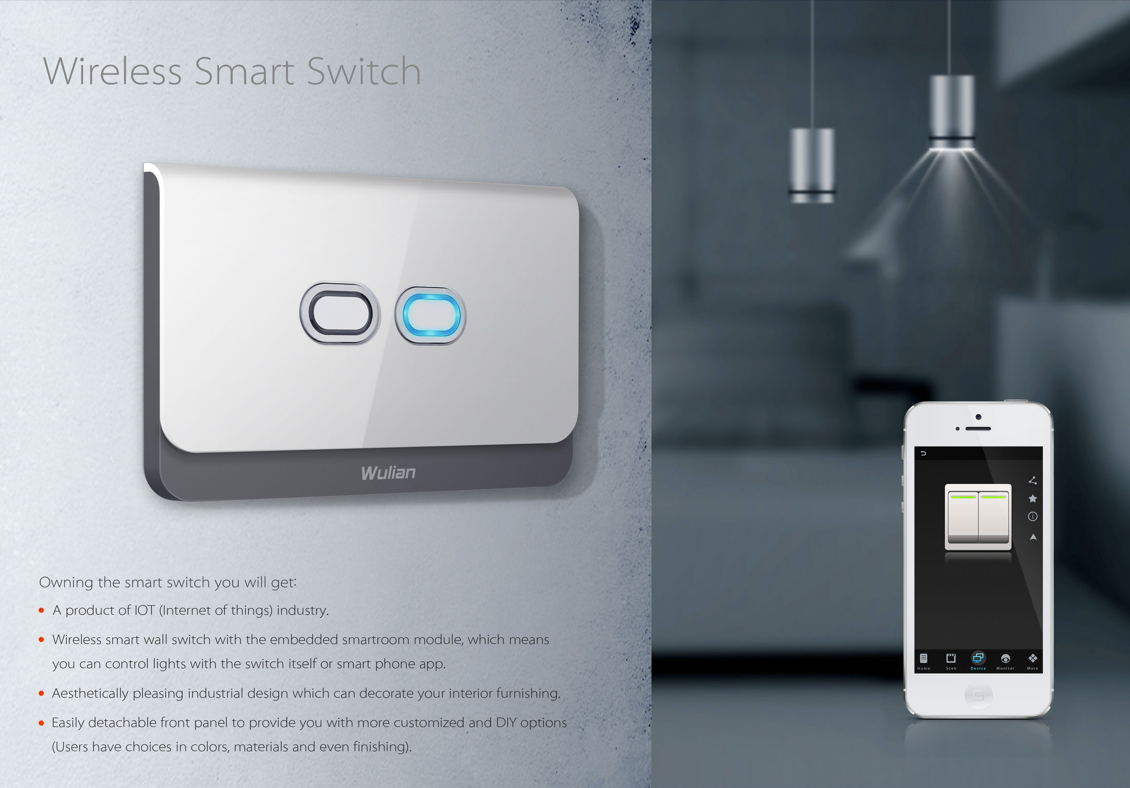 Wireless Smart Switch