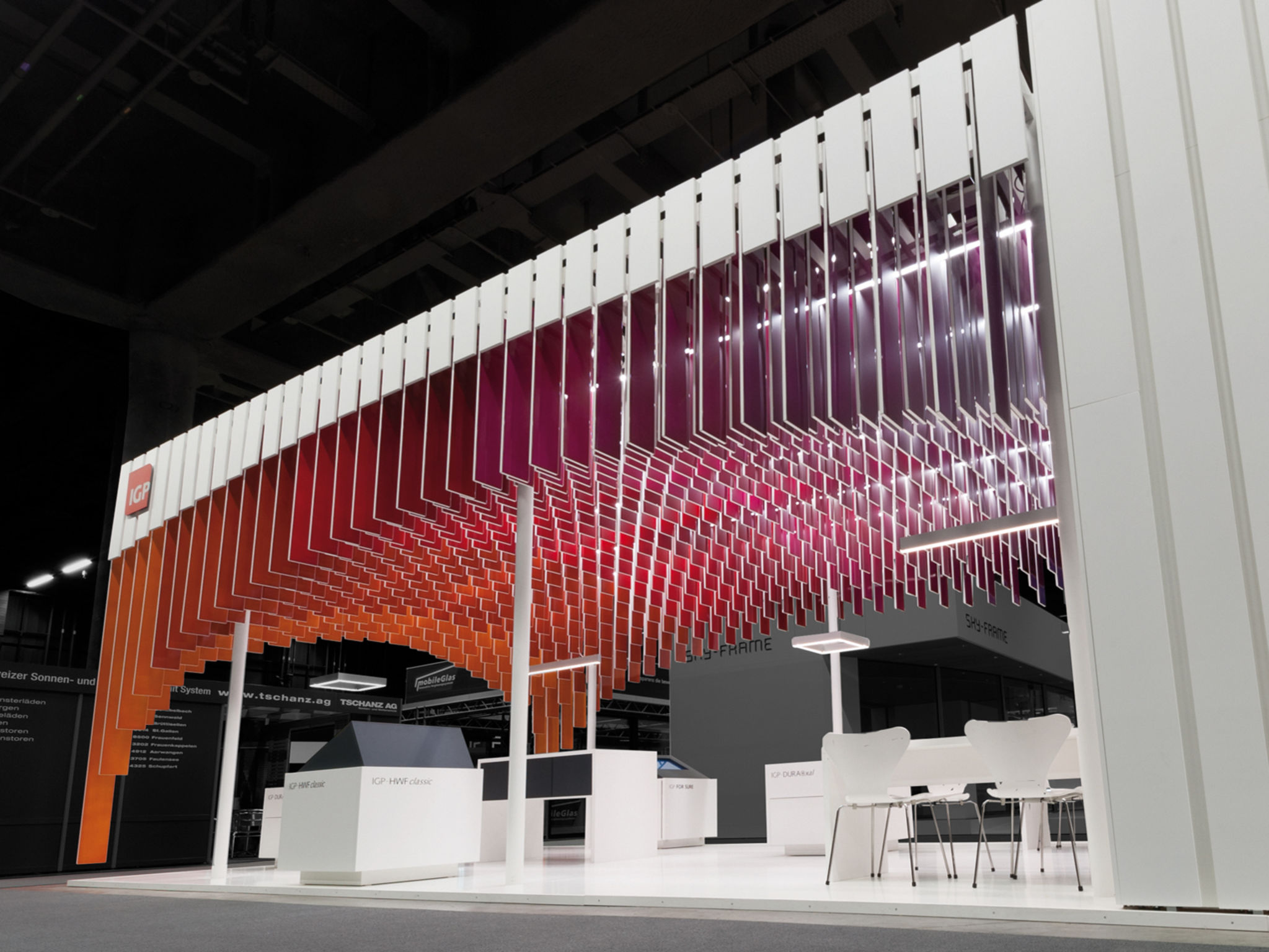 Exhibition Stand Design Guidelines : Igp messestand if world design guide