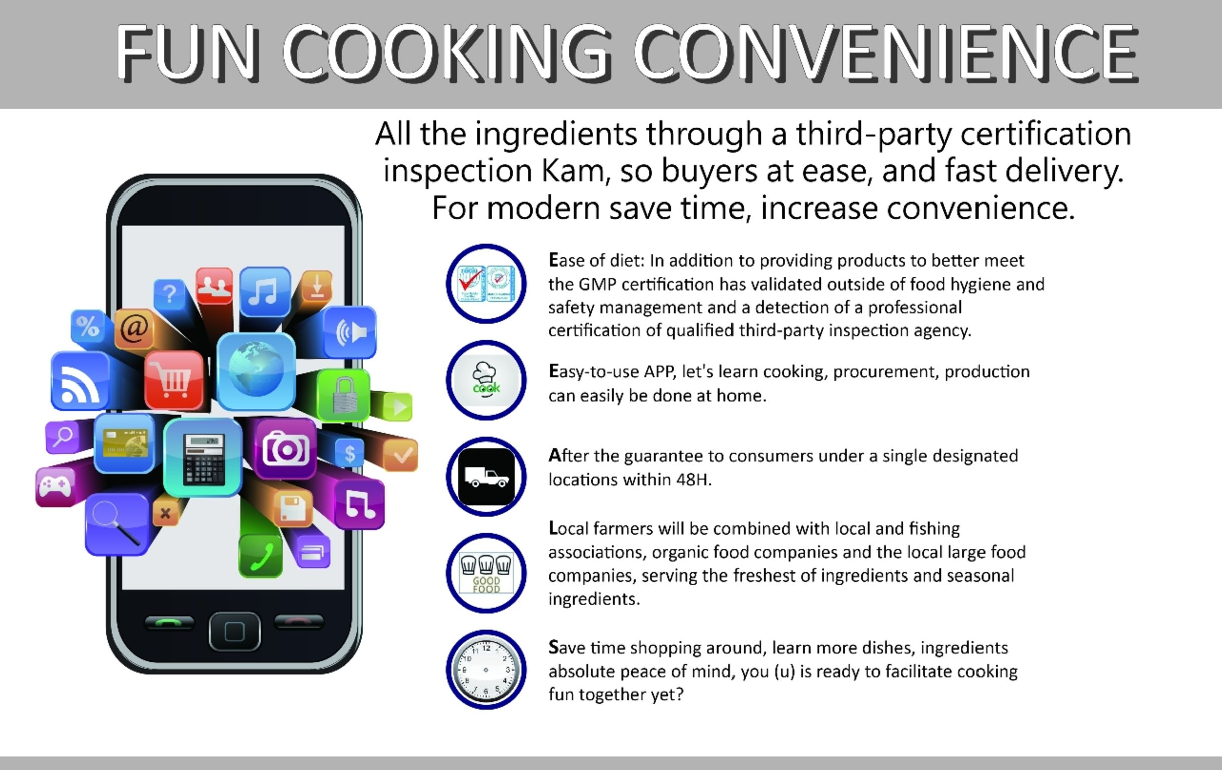 FUN COOKING CONVENIENCE | iF WORLD DESIGN GUIDE