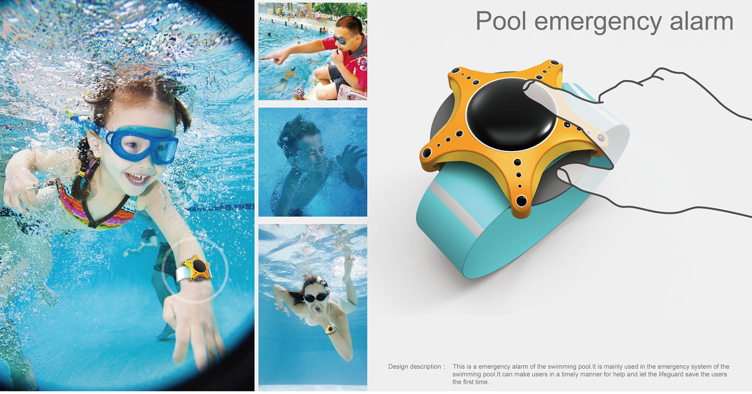 Pool emergency alarm | iF WORLD DESIGN GUIDE