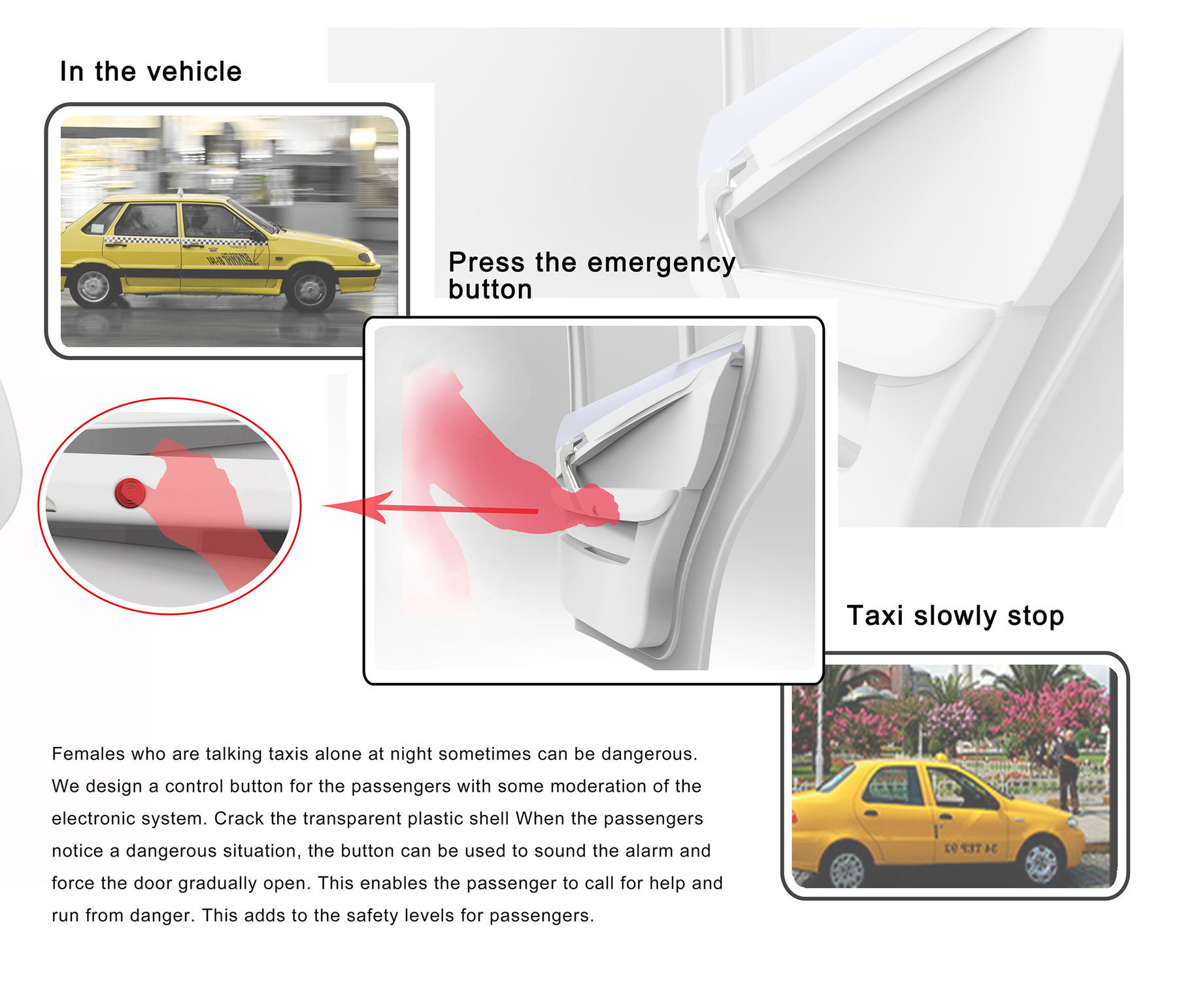 Taxi Security System | iF WORLD DESIGN GUIDE