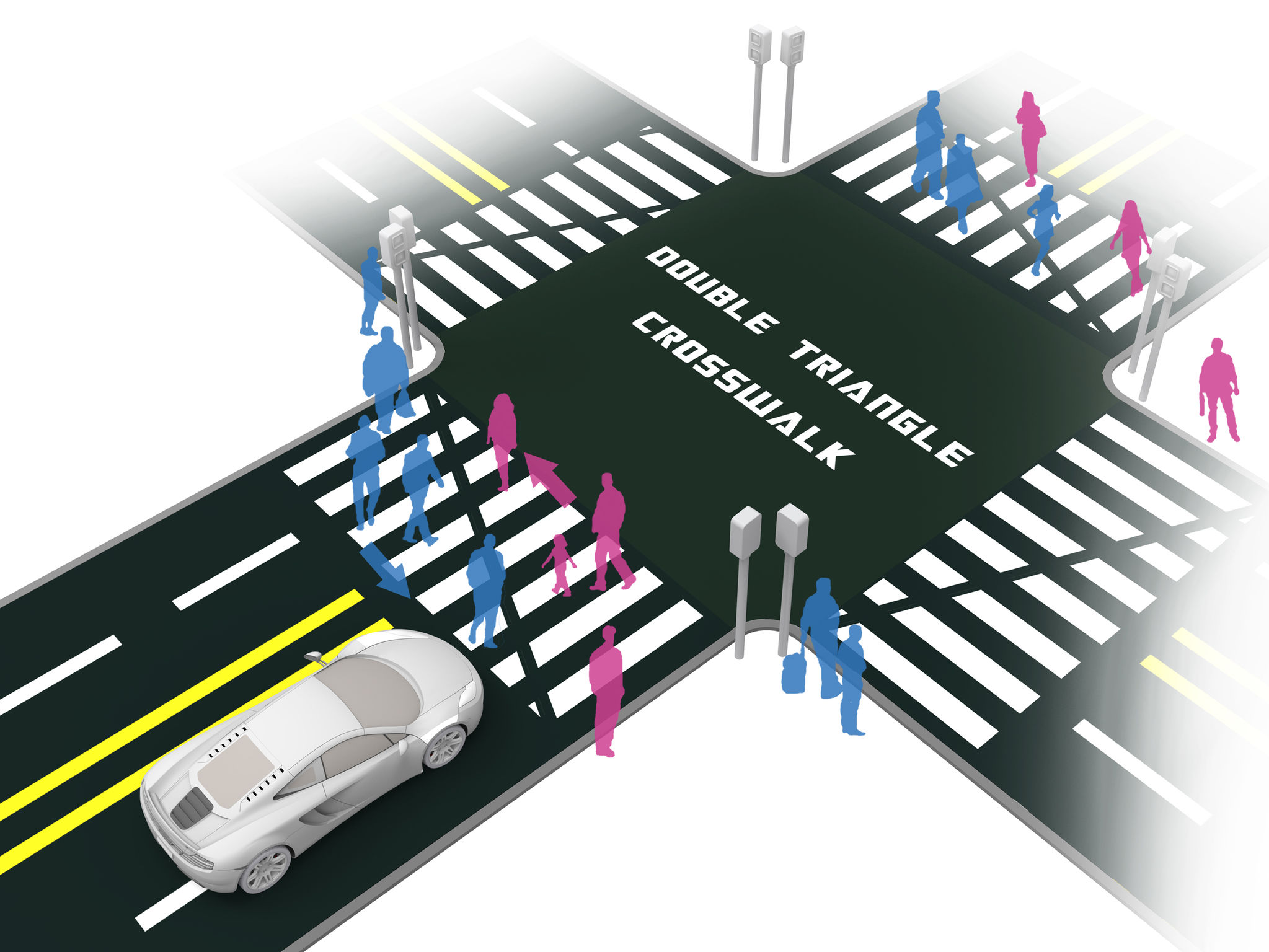 Double Triangle Crosswalk If World Design Guide Circuit Diagram