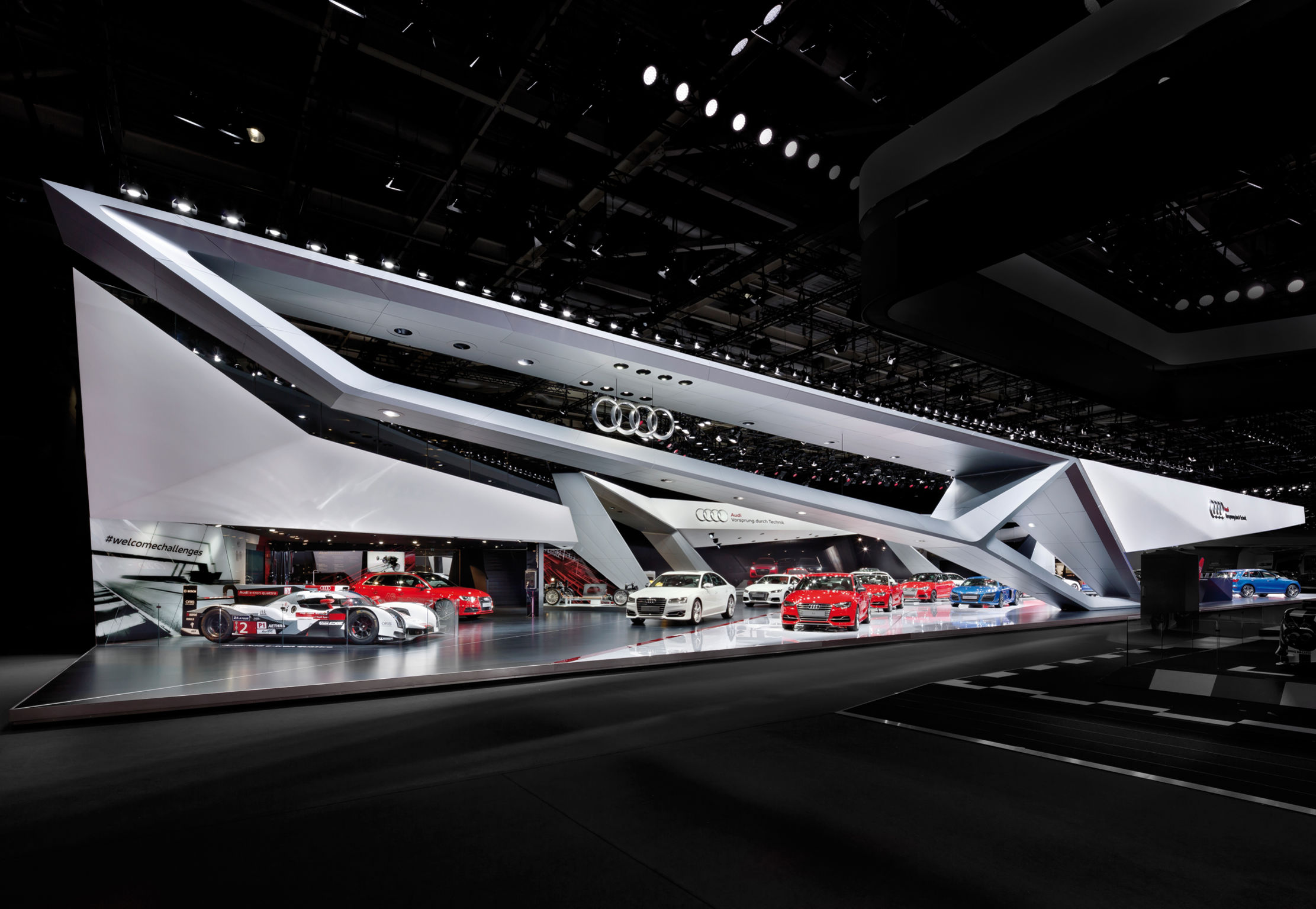 Exhibition Booth Design Award : Audi paris motor show if world design guide