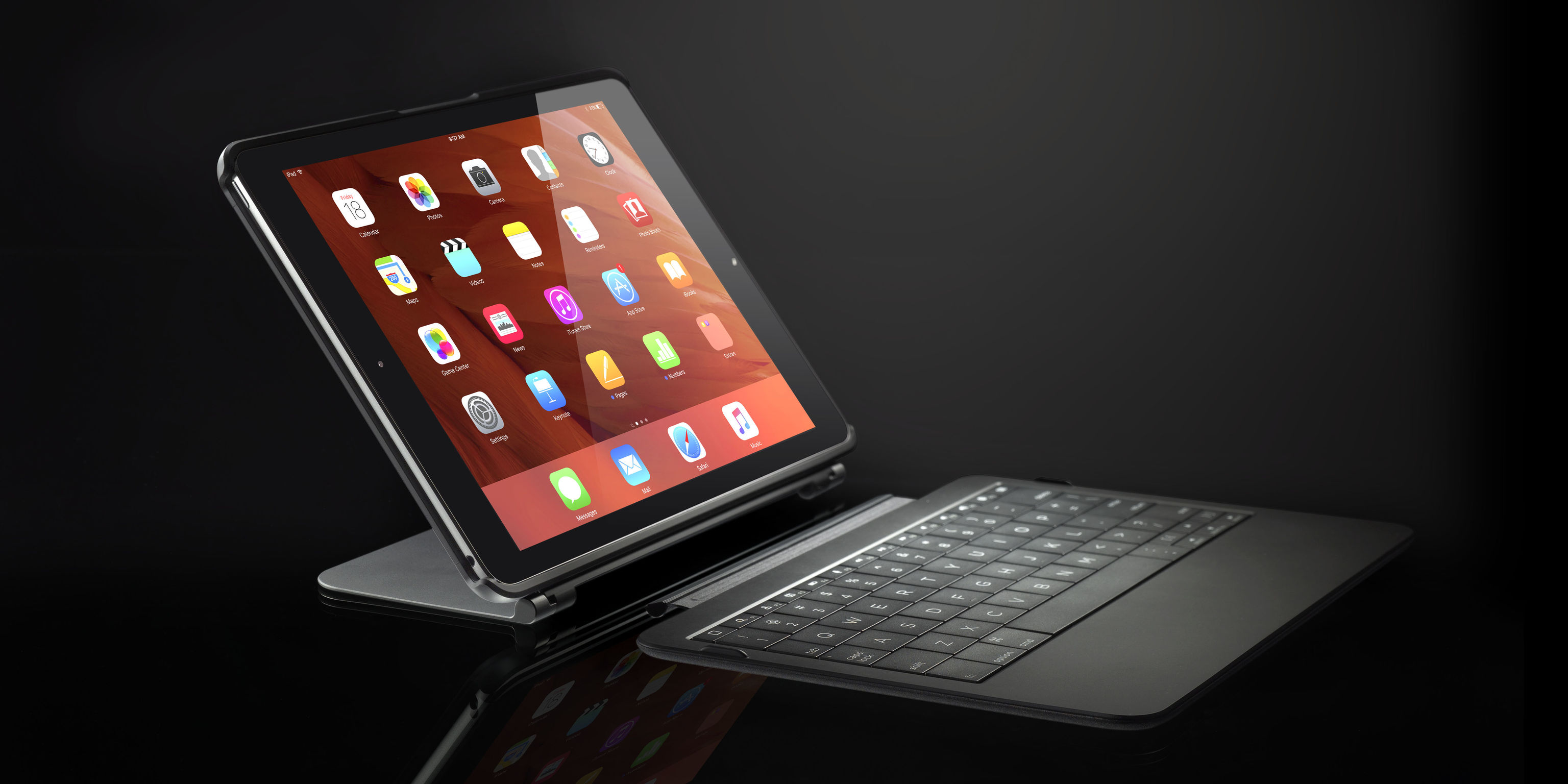 buy popular 303f4 55743 TYPO keyboard for iPad Air   iF WORLD DESIGN GUIDE