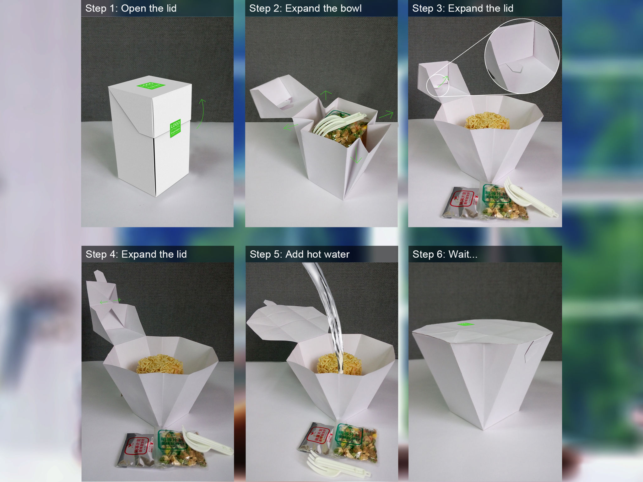Expandable bowl | iF WORLD DESIGN GUIDE