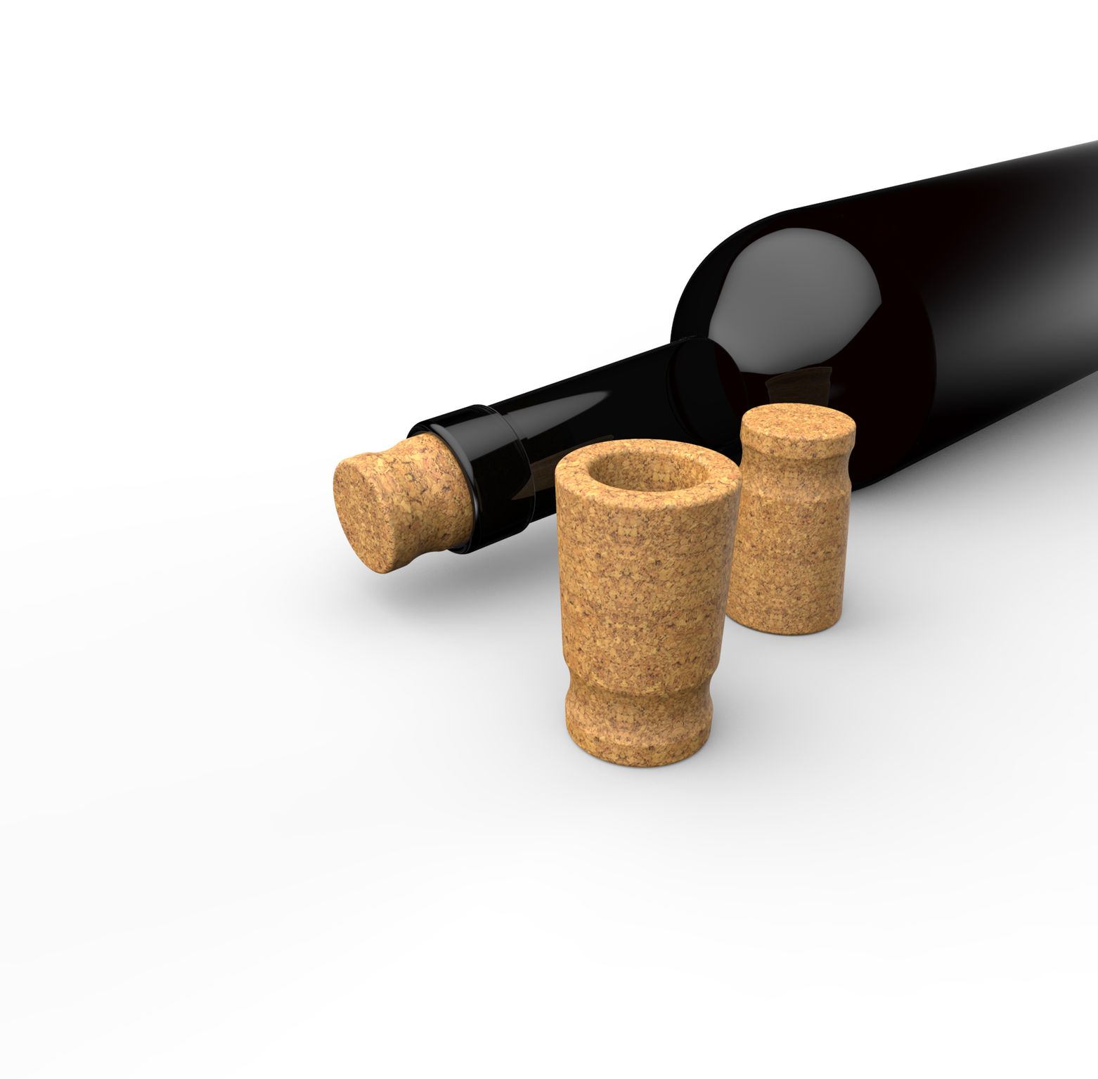 how to get cork out without opener