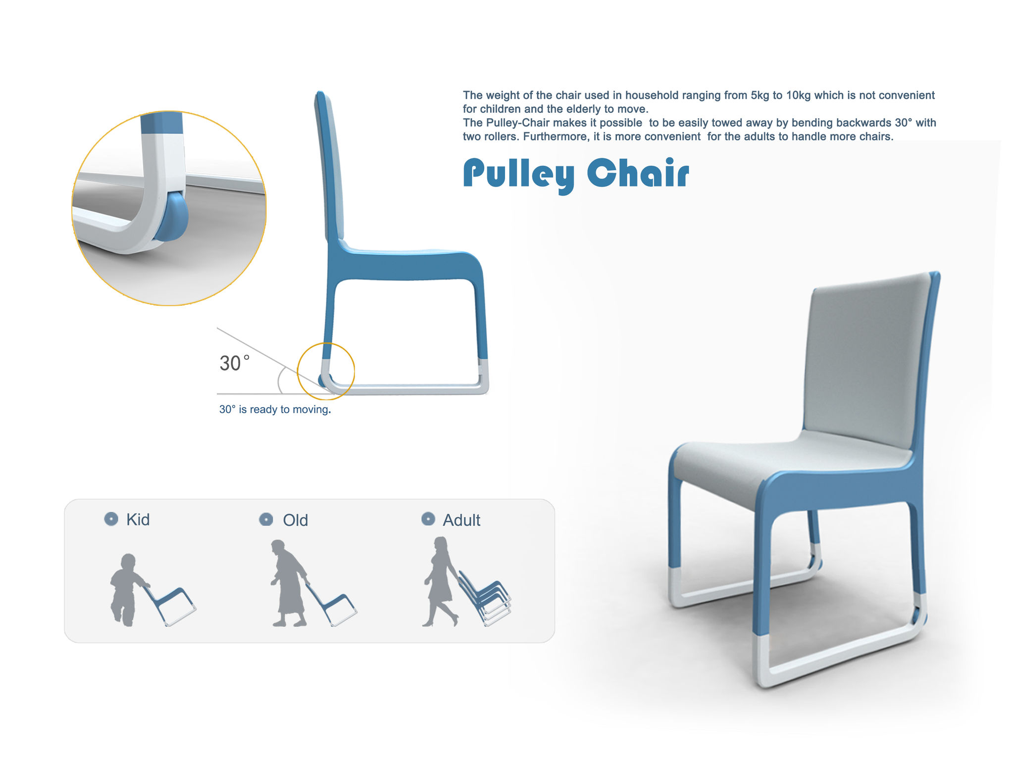 Pulley Chair | iF WORLD DESIGN GUIDE