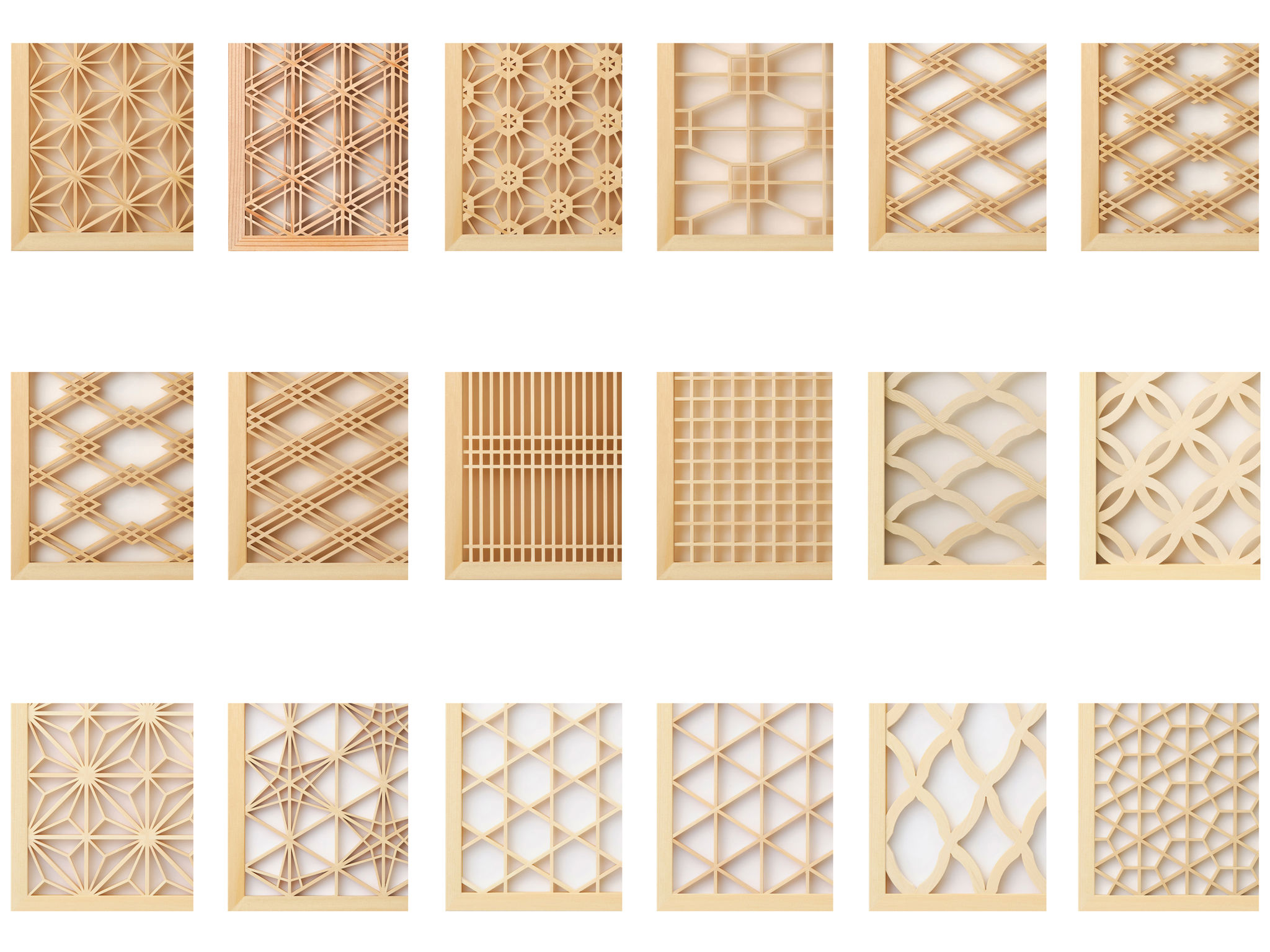 Kumiko Wood Screen If World Design Guide